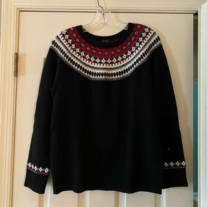 Talbots Fair Isle Sweater